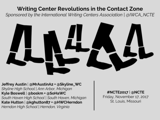 NCTE 2017 - Writing Center Revolutions in the Contact Zone