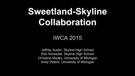 Sweetland-Skyline Collaboration